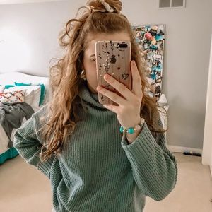 coziest turtleneck sweater